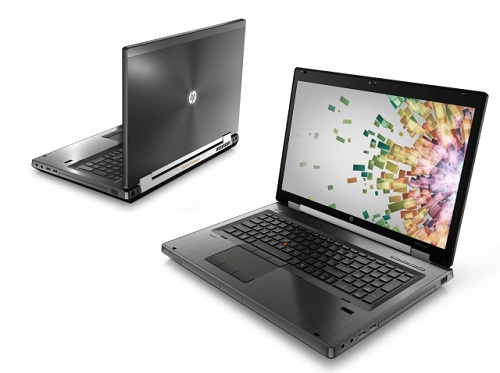 HP Elitebook 8760W Core i7-2820QM, 8GB Ram, 256GB SSD, VGA Quadro 3000M, 17-inch FHD