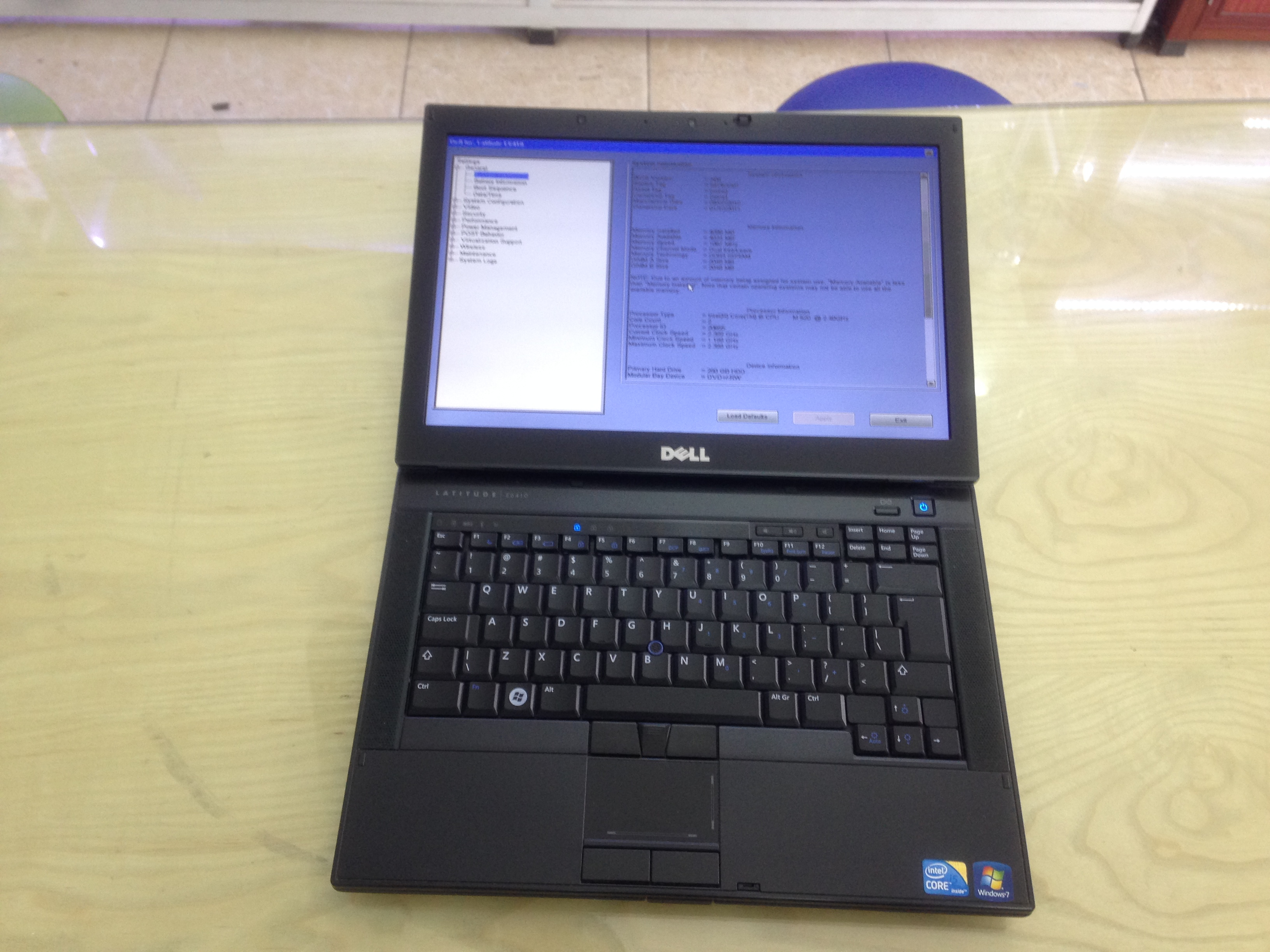 Laptop cũ Dell Latitude E6410 (Core i5-M520, 4GB RAM, 250GB HDD, 14.1 inch HD)